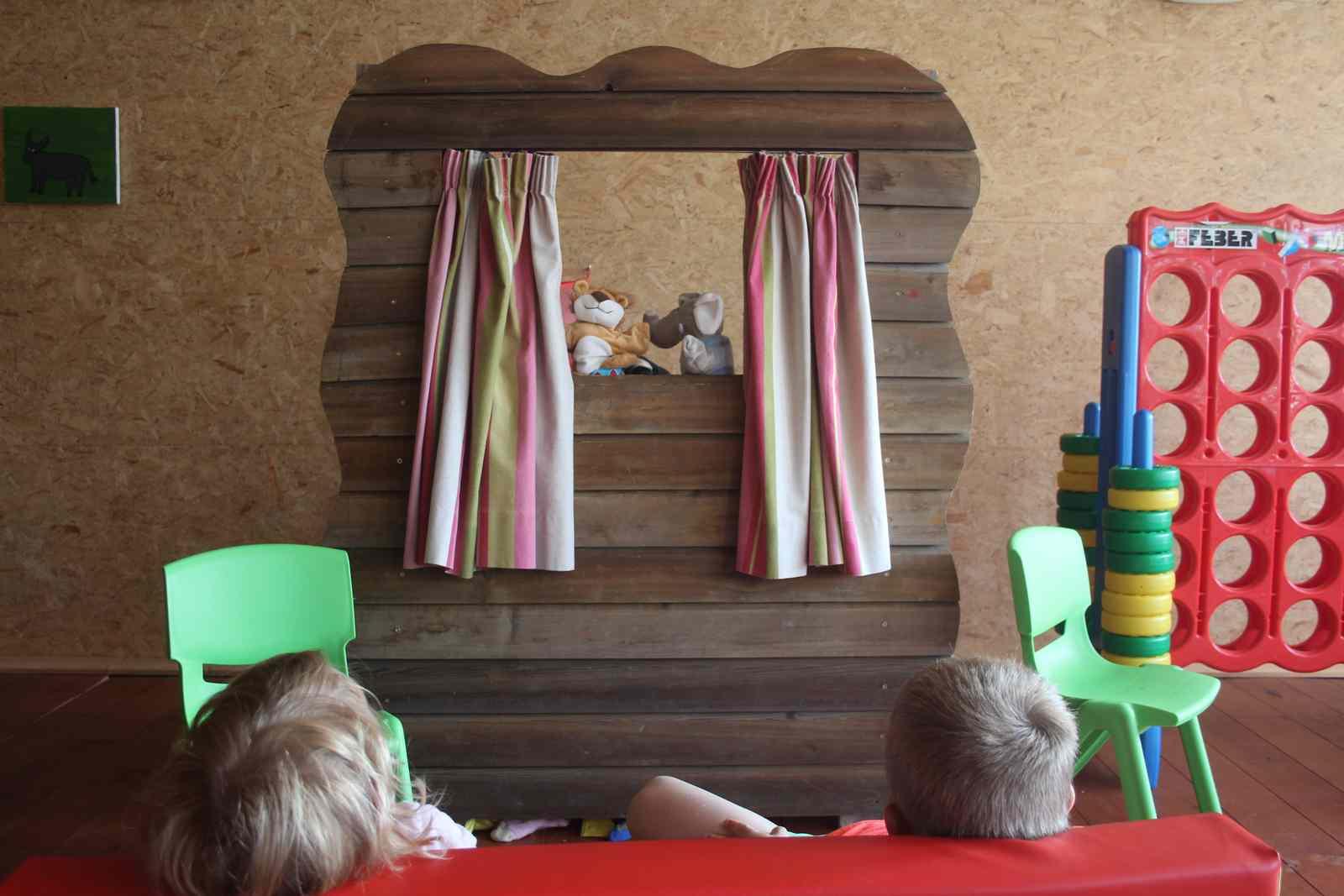Les jeux pour enfants à la Ferme du Pré charmant